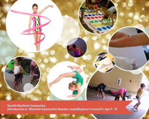 Rhythmic Gymnastics camp in Seattle